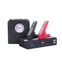 мощные воздушные компрессоры оптовых-Заряжатель батареи автомобиля стартера 12В скачки автомобиля автомобиля с банком силы ноутбука телефона наивысшей мощности с компрессором воздуха