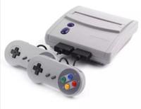 битовый контроллер оптовых-16-битная супер мини SFC игровая приставка развлекательная система 64 классические игры для SNES с 2 контроллерами 32шт