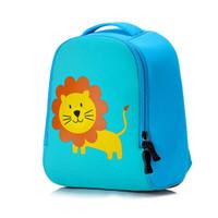 köpek okulu sırt çantaları toptan satış-Sevimli aslan Hayvan Tasarım Yürüyor Çocuk tavşan Okul Çantası Anaokulu Karikatür köpek sırt çantası Okulöncesi 1-3 yıl erkek kız