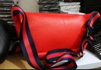 emballage en cuir achat en gros de-2018 nouveau nom du designer en cuir taille sacs femmes hommes lettre sacs à bandoulière Ceinture Sac À Bandoulière Femme Sacs Sacs À Main G493869 paquet fanny