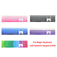 Silicone Keyboard Cover Keypad Protector For Apple Magic Keyboard with Numeric Keypad A1843 MQ052LL A Released in 2017