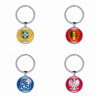 Wholesale Cups Photos - 2018 FIFA World Cup Russia-National Team Photo Printing Of Brazil,Belgium,Iceland,Poland Key Chain,Promotional Key Ring,Promotional Items