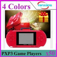 Wholesale New Player Games - 2018 NEW PXP Handheld Portable Game Players Game Console PXP3 50PCS ZY-PXP3