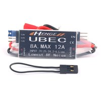 Wholesale lipo max - HENGE 8A UBEC Output 5V   6V 6A   8A Max 12A Inport 7V-25.5V 2-6S Lipo   6-16 cell Ni-Mh Input Switch Mode BEC for RC Helicopter