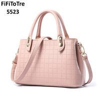 ea3645b53709 5523 Brand 2018 NEW Fashion Designer Women Leather Handbags Luxury Ladies  Hand Bag Purse Fashion Shoulder Bags Bolsa Sac pink