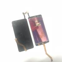 zte bıçaklı sayısallaştırıcı ekran toptan satış-Orijinal LCD Dokunmatik Ekran Digitizer Meclisi Parçaları ZTE Blade Z Max Z982 Siyah