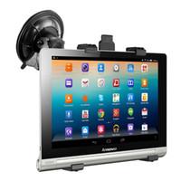 suporte de carro de montagem universal mini venda por atacado-Suporte do carro universal stand para lenovo yoga tablet tab 2 3 8.0 10.1 para ipad air mini dvd gps universal 7-10 polegada de montagem de sucção