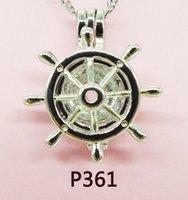 perla entrega gratuita al por mayor-2018-P361 # entrega gratuita Lady Party Jewelry Sets Pearl jaula colgante / collar / pulseras (envío gratuito de ostras de perlas)