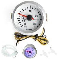 Wholesale-1 set 52mm Auto Turbo Boost Vakuumpresse Messgerät Meter Blau LED 0-30 Psi Auto Lkw Teile Messgeräte