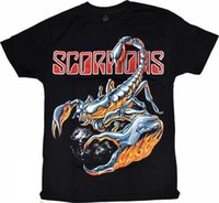 ingrosso tè diverso-T-shirt Scorpione New different size Uomo New Top tee di alta qualità Mens Hipster manica corta T-shirt