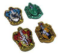 demir harry potter yaması toptan satış-VP-37 Harry Potter dört kolejler