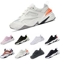 профессиональные мужчины оптовых-Nike M2K Tekno 2018 M2K Tekno Старая дедушка Кроссовки для мужчин Кроссовки для мужчин Спортивная обувь для взрослых Спортивная обувь для взрослых Бесплатная доставка