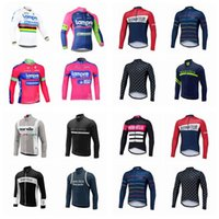 Wholesale lampre team clothes for sale - Morvelo LAMPRE team Cycling long Sleeves jersey new HOT SALE Men s Outdoors MTB Riding Bike Clothes Sportswear D2910