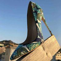 taille 40 97538 56906 Vente en gros Chaussures Noires À Talons Hauts Semelles ...