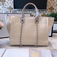 Wholesale ladies leather beach bag - High Quality Women Canvas handbag letter Embroidery Casual Travel women's Crossbody Beach leisure Bag Ladies Messenger Shopping bags