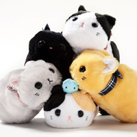 Wholesale toys amusing plush for sale - Group buy Candice guo cute plush toy Amuse napping cat kitten pencil bag storage case children girls creative birthday Christmas gift pc