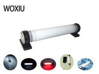 многофункциональный аварийный фонарь оптовых-WOXIU фонарик многофункциональный светодиодный свет многофункциональный аккумуляторная работа тактический 1 лампа Портативный USB аварийный Солнечный кемпинг мини магнитный