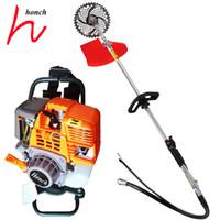 mower cutter Australia - Lawn mover grass cutter trimmer backpack brush cutter tiller gasoline brush cutter price