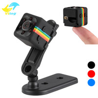 Wholesale night camera tf online - SQ11 Mini Camera HD P Night Vision Camcorder Car DVR Infrared Video Recorder Sport Digital Camera Support TF Card DV Camera