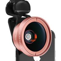 мобильный объектив оптовых-Мобильный телефон универсальный объектив широкий угол макро комбо комплект внешняя камера зеркальные объектив камеры телеобъектив голова