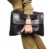 Wholesale Trends Casual Bag - Hot Selling Women envelope clutch bag leather women Crossbody Bags for women trend handbag messenger bag female Ladies Clutches