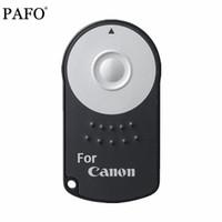 câmera 5d marca ii venda por atacado-1 pc hot rc-6 rc6 ir controle remoto sem fio infravermelho da câmera do obturador com bateria para canon eos dslr 5d mark ii 500/550/600/650