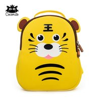 детские школьные сумки для девочек оптовых-Cocomilo  Kindergarten Kids Cute Cartoon Animal School Backpack Children Girls Gift Fashion Waterproof School Bags for Boys