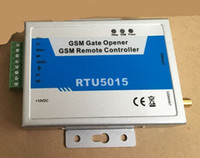 Wholesale door sms - 64 users GSM Gate controller (2digital input 1 relay out) SMS Control Gate Door Opener 12VDC (without SIM card) 4pcs