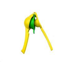 el sıkma makineleri toptan satış-Çok Fonksiyonlu Limon Sıkacağı Alüminyum Alaşım Yaratıcı El Yapımı Sıkacağı Basın Meyve Klip Mutfak Gadget Meyve Araçları Sıkacakları 12xy jj