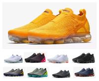 Wholesale soft shock shoes online - Unisex New air cushion MOC FK Men Women LACELESS FUTURISM Running Shoes Shock Jogging Sneakers Athletic oreo Size