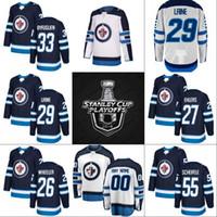 Wholesale Cupping Marks - Winnipeg Jets 2018 Stanley Cup Playoffs Jersey 26 Blake Wheeler 27 Nikolaj Ehlers 29 Patrik Laine 33 Dustin Byfuglien 55 Mark Scheifele