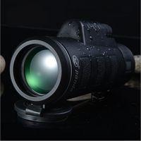Wholesale Military Hd - High Quality Monocular 40x60 Powerful Binoculars Zoom Field Glasses Great Handheld Telescope Military HD Professional Hunting