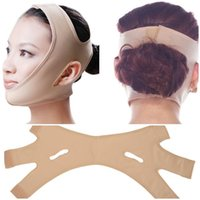 Wholesale lift up face mask - Delicate Facial Thin Mask Face V Shaper Slimming Bandage Face Lift Up Neck Mask Sleeping Face-Lift Reduce Double Chin Face Thin