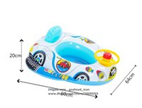 Wholesale Outdoor Baby Toys - Baby Swimming Seat Inflatable float seat for Kids Toddler