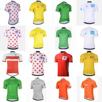 Wholesale mountain tours - STRAVA TOUR DE FRANCE team Cycling Short Sleeves jersey Bike Clothing Quick Dry Bicycle Mountain bike ropa ciclismo C2605