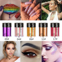 Wholesale glamorous makeup for sale - Group buy Pudaier Eyes Glitter Laser Holographic Eyeshadow Glamorous Diamonds Blaze Shimmer Pigment Eye Shadow Festival Party Makeup
