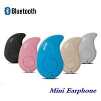 ingrosso bluetooth invisibile del telefono delle cellule-S530 Piccolo auricolare Bluetooth leggero senza fili Cuffia invisibile Mini Cuffia con risposta e chiamata per Smart Cell Phone Android