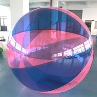 Wholesale inflatable water walking toy resale online - Inflatable Water Walking Ball Water Rolling Ball Water Balloon Zorb Ball Inflatable Human Hamster Plastic Freeshipping Fede