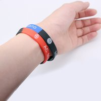 Wholesale Basketball Wristbands - 2018 World Cup Soccer Jersey Soccer Wristband Best Thailand Quality camisa de futebol Outdoor Accs Souvenirs Bracelets Wristband