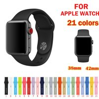 armband silikon armband sport großhandel-Silikonband Sportband Serie 3/2/1 Armband Armband Armband 42mm 38mm