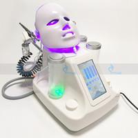 Wholesale Aqua Led - 7in1 portable water hydro dermabrasion aqua peeling machine photon led facial mask ultrasonic skin care machine BIO eyes lift