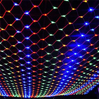 Wholesale halloween controller for sale - LED net String lights Christmas Outdoor waterproof Net Mesh Fairy light m m m m Wedding party light with function controller sunway168