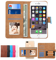 Wholesale oppo for - Crocodile Universal Rotating Wallet PU Flip Leather Case For inch Phone iPhone X Samsung S9 Plus Huawei XiaoMi RedMi OPPO