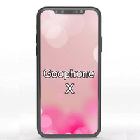 Wholesale Iphone Quad - Unlocked Goophone X iX Android Smartphone Quad Core 1GB RAM 4 8G ROM Show 4G LTE Face ID Recognition Cell Phones