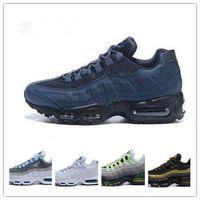 ingrosso sconto di avvio-2018 Vendita all'ingrosso nuove scarpe da corsa Airs Cushion 95 Sneakers Boots Authentic 2018 Nuovo Walking Discount Sport air shoes