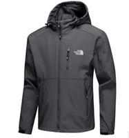 гидроизоляция для одежды оптовых-мужская мода куртки с длинным рукавом ветровка windrunner мужчины молния водонепроницаемый куртка лицо Северная толстовка пальто одежда 06