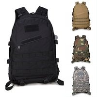 Wholesale Free Gym Equipment - Military Tactical Backpack Sports Camouflage Equipment Backpack By Camouflage Waterproof Tactical 3D Package 11 Styles Free DHL G576F