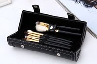 Wholesale mirror brush sets for sale - Group buy New Brands M Barrel packaging makeup brushes kit MAKEUP brands brush set with mirror vs mermaid