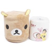 Wholesale bathroom paper napkin holder for sale - Group buy 2018 New Cartoon Tissue Box Napkin Holder Paper Towel Napkin Case For Bathroom Car Garden Hotel Room