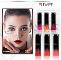 Wholesale beautiful lip for sale - 2018 Newest PUDAIER MATTE lipgloss Liquid LIPSTICK Makeup Waterproof Beautiful Cosmetics Attractive lips colors